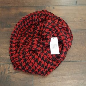 Accessories - Hounds tooth Infinity scarf
